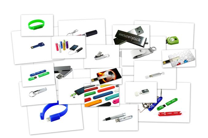 Auswahl USB-Sticks